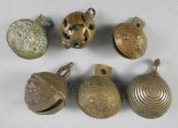 Chinese trade bells C103. Chinese trade for Borneo.