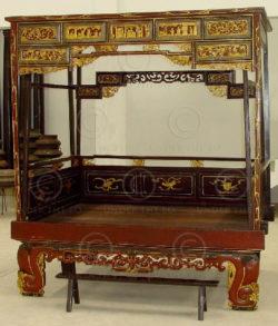 Chinese bed CHM1. Malacca, Malaysia.
