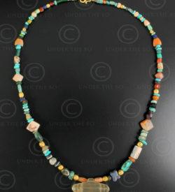 Collier perles antiques Perse 632. Design François Villaret.