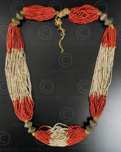 Collier tribal Gondh NA215. groupe tribal Gondh de l'état de l'Orisha, est de l'