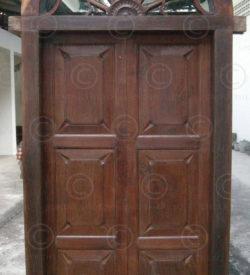 Doors H2B-00. Set of nine elements. South India