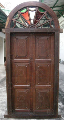 Doors H2B-00. Set of nine elements. South India