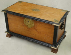 colonial chest M4-98. Southern India.