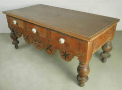 Colonial Coffee table i5-98. Dutch colonial, Cochin. India.