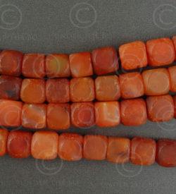 Cornelian beads NBD3A. India.