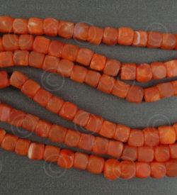 Cornelian beads NBD3B. India.