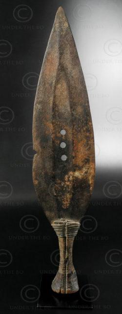 Couteau tribal AF138. Kuba (ikul). Congo(RDC).