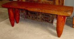 Console FV11 Teakwood top and jackwood legs.
