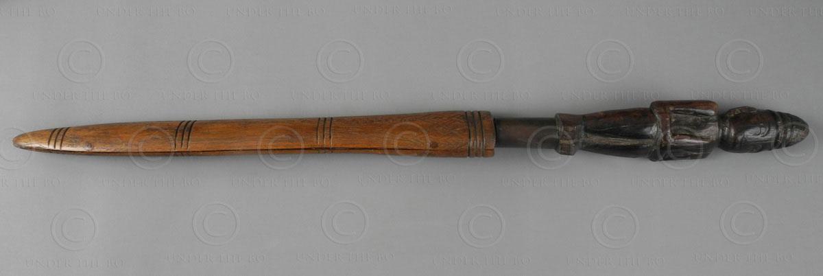 Dague khmère 12SV2. Cambodge.