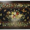 Dessus de table style pietra dura IN10 - Granite à marqueterie. Agra, Inde