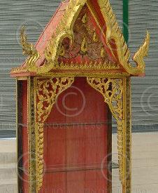 Vitrine thaie T805. Atelier Under the Bo. Thaïlande