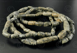 Djenne dolomite beads BD261B. Collected from the sands of the Sahara Desert and