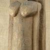 Dogon pillar MA1. Toguna. Mali, West Africa.
