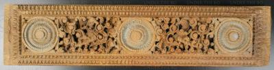 Door lintel panel 09BS5. (Chloroxylon swietenia). Southern India.