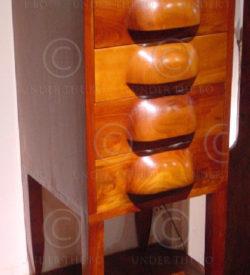 Meuble à quatre tiroirs FV3. Atelier Under the Bo.