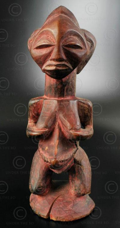 Fétiche songyé AF67. Culture songyé, Congo RDC (ex -Zaïre).