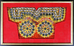 Framed Rajasthan blouse IN31A. Rajasthan, NW India.