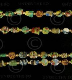 Gabri glass SH5A. Islamic period, 7-10th century. Afghanistan.