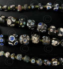 Antique glass beads SH43. Afghanistan.