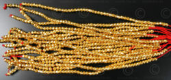 Gold beads GB8. India.