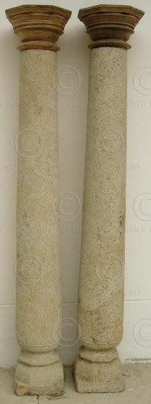 Granite columns 08MT33. Tamil Nadu, Southern India.