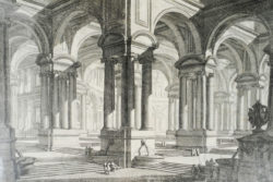 Gravure Piranese FR10. Gravée à Rome vers 1743.