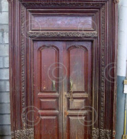 Door H27-02 French colonial. Karikal. South India