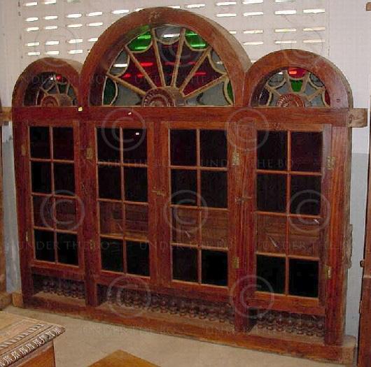 Portes & fenêtres H2C-00. Inde du sud