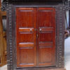 Colonial window H53. French  trading post, Karikal, Tamil Nadu, India.