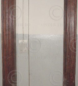 Door frame H6-02 Rosewood . Frame only. 19th century. South India