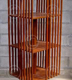 Revolving Bookshelves H8-00. Jackwood. India