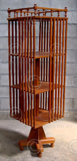 Revolving Bookshelves H8-00. Jackwood. India