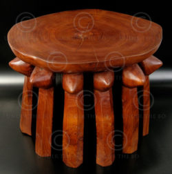 Hehe Stool FV8. Hehe style stool (Tanzania). Under the Bo workshop.