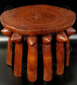 Hehe Stool FV8. Hehe style stool (Tanzania). Under the Bo workshop.