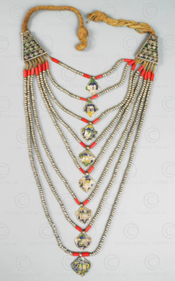 Himachal necklace 188. Kinnaur valley, Himachal Pradesh, North India