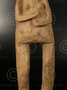 Nepali statue NE2 Idol, Rai minority, East Nepal, early 20th cent.