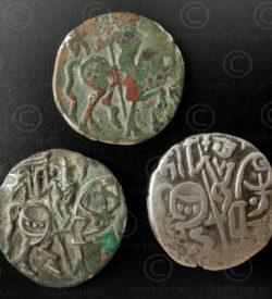 Shahi coins C65. Gandhara