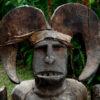 African statue Magical figure Ikenga, Ibo, Nigeria, 19th cent.