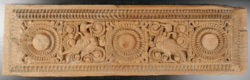 Indian carved lintel. LT18B. Tamil Nadu,, Southern India.