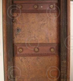 Indian Door M19-99. 19th century. South India.