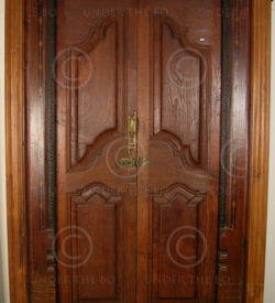 Colonial door 08MT4. Teak wood. Southern India.