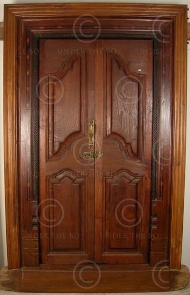 Blog Teak Wood Main Door Design In India: Colonial Door 08MT4. Teak Wood. Southern India