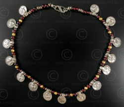 Silver lions necklace 327C. Under the Bo workshop