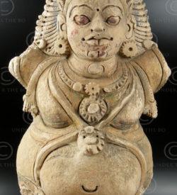 Indian statue C23 Stucco figure, Chettinad, South India