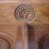 Door H57-02. Chettiar door, Satinwood. South India