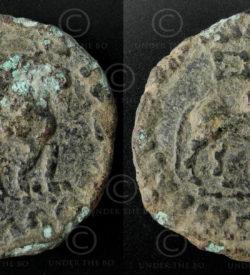Indo-Scythian bronze coin C209D. Nomadic Indo-Scythian, Sakastan-Gandhara.