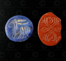Intailles sassanides minuscules SH75. Afghanistan. Empire Sassanide.