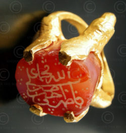 Islamic gold ring R228. François Villaret design.
