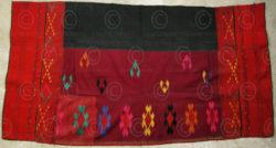 Kachin loincloth KA1. Jingpao minority, Burma.
