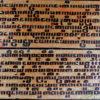 Burmese bible leaves BU477. Burma.